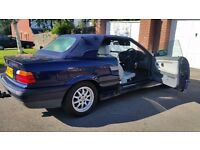 BMW covertible automatic, classic 1year mot central lock leather seat aloy wheels service h