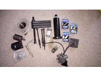 Aprillia RS 50 tools and misc parts