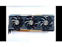 Sapphire AMD R9 390X Tri-X Graphics Card (8 GB, OC, PCI-E, GDDR5, 512 Bit, DisplayPort, DVI-I, HDMI)
