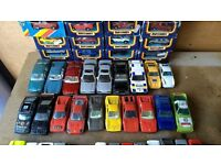 Matchbox Majorette Ertl Corgi Burago Die Cast Toy Cars in Various Scales with Some Boxed