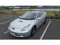 2001 (Y reg) Toyota Celica Silver Premium + Sport Pack £1500 ONO