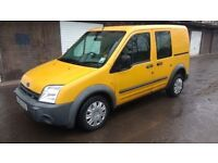 ford transit connect lx tdci swb 2003 03 plate caddy combo