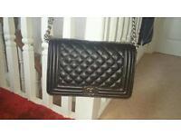 Chanel black handbag