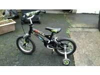 Ben 10 bike with stabilisers