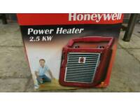 Portable electric heater 2.5kw
