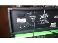 Peavey XXL 100W Guitar Amp Head + Peavy 4 x 4 Cab