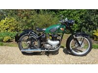 BSA A10 Gold Flash Plunger 1954