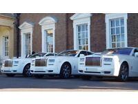 Wedding Car Hire, Rolls Royce Phantom Hire, Limousine Hire, Classic Wedding Car Hire, Prom Hire