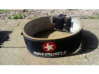 Weightlifting belt - MAXIMUSCLE