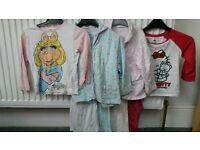 Girl's Pyjama Sets x4. Aged 3-4 years