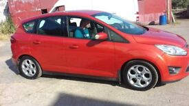 Ford C Max, low milage (46k) excellant condition, 2011 plate