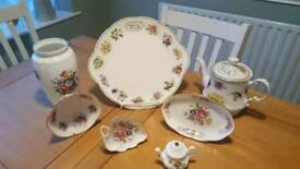Selection of Aynsley and Queens China