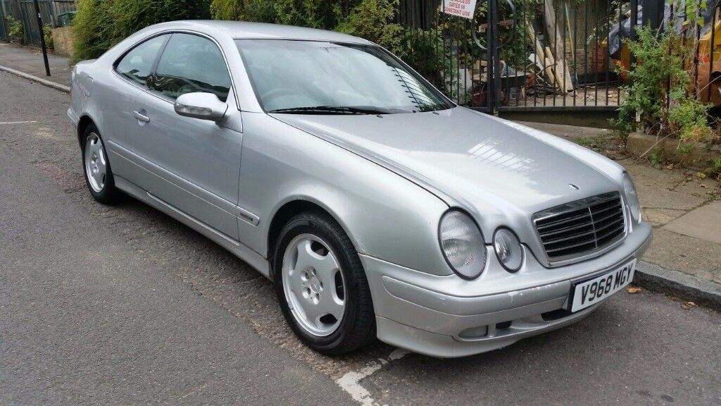 mercedes clk 230 kompressor elegance mot till april 2018 in islington london gumtree. Black Bedroom Furniture Sets. Home Design Ideas