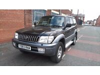 2001 Toyota Land Cruiser Colorado 3.0 D-4D VX 5dr (8 seat)£3,495 p/x welcome