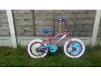 """Girls 16"""" wheel bike"""
