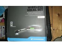Sennheiser XS e-835 Wireless Vocal set with fly case for sale.