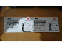 Russell Howard Round the world tickets