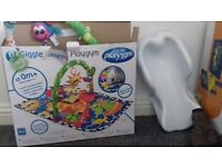 play mat and bath seat