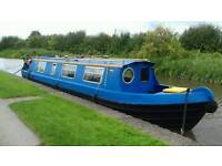 Narrow boat 40 foot narrowboat