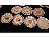 Calender plates