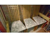 Dining lounge chairs
