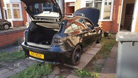 bmw 1 series black 116i sport. 5 door. 10 months mot. private plate