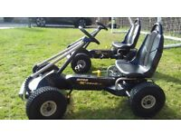 Kettler Go Kart x2 would suit 7 to 12 year olds