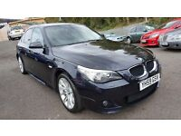 BMW 5 Series 2.0 520d M Sport ++ MOT OCT 16++FULL SERVICE HISTORY++LOW MILEAGE++6 MONTH WARRANTY INC