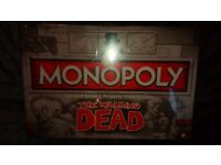 The Walking Dead Monopoly *NEW* Still Sealed