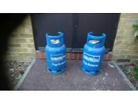 7kg butane calor gas bottles.