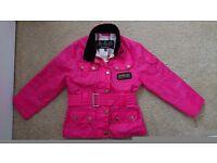 Girls Barbour coat 2-3 years.