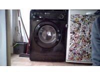 washing machine White Knight (black) 6 months old.