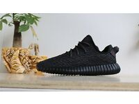 Adidas Yeezy 350 Boost Pirate Black With Original Box