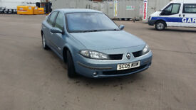 2005 RENAULT LAGUNA 1.9DCI, FULL SERVICE, LONG MOT, LOW MILES
