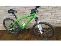 Cannondale hardtail mountain bike with disc brakes all round