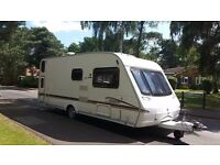 Rare 6 berth Swift Coastline 570, 2 fixed rear bunks, awning and all required kit