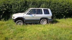 Vauxhall frontera3.1