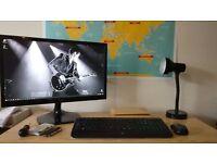 Intel NUC i5-4250U Desktop System (incl TV/Monitor + Keyboard/Mouse Combo)