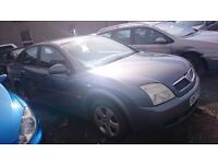 2004 VAUXHALL VECTRA, 2LT DIESEL, BREAKING FOR PARTS ONLY, POSTAGE AVAILABLE NATIONWIDE