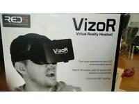 Vizor VR headset