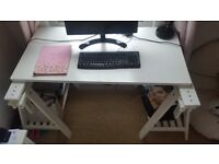 Gentle used two-year-old Ikea desk . Email for details. COLLECTION ONLY!