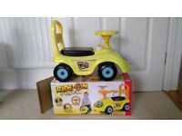 ride one car- ideal for toddler,£6