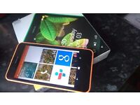 Nokia lumia 630 with box and instructios as new condition
