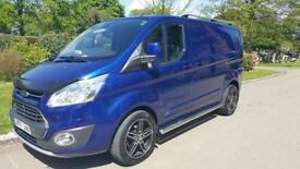 Transit custom ltd 155ps loads of extras no vat low miles top spec 6 seats