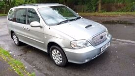 Diesel 2005 KIA SEDONA 7 Seater 11 MONTH MOT Only Done 71000 Miles