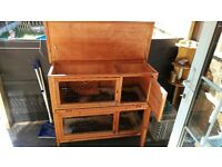 Excellent Second Hand Spacious 2 Floor Guinea Pig / Rabbit Hutch!!