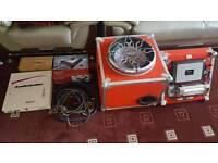 Alpine 15 inch type r subwoofer car sound system