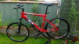 Mounting bike 24sp disk brakes