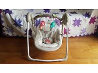 Gorgeous Ingenuity Comfort & Harmony Baby Swing (Cozy Kingdom) by Bright Starts with music lullabies