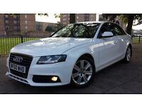 60 plate Audi A4 2.0 TDi Technik in Ibis White